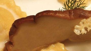 Patate di Montese delfino al Parmigiano Reggiano 24 mesi, erbette di campo e guanciale dell'Appennino